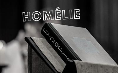 Homélie – 28ème dimanche du temps ordinaire Père Luc-Emmanuel Dupont