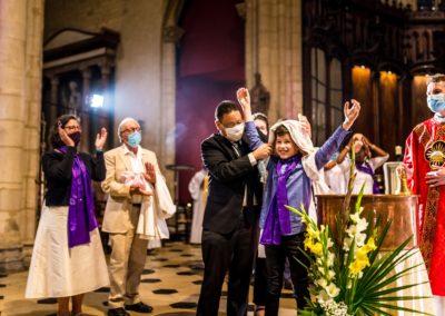 baptême adolescent paroisse saint nizier Lyon 2020