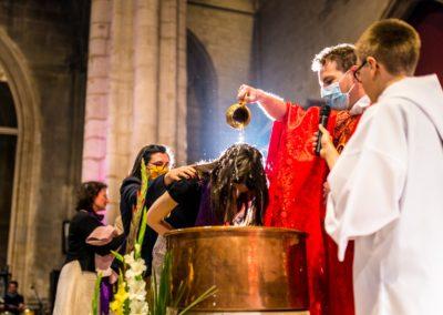 sacrement du baptême des adultes sur Lyon - paroisse saint nizier 2020