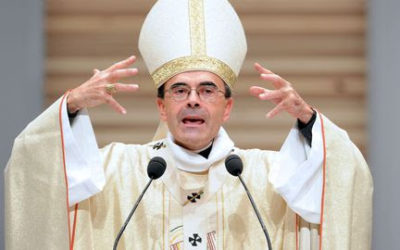 Messe d'action de grâce du cardinal Philippe Barbarin