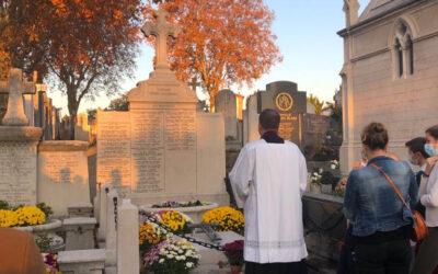 Retour en images sur la bénédiction des tombes