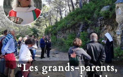 Pèlerinage des grands-parents à Cotignac – 17,18 et 19 octobre 2021